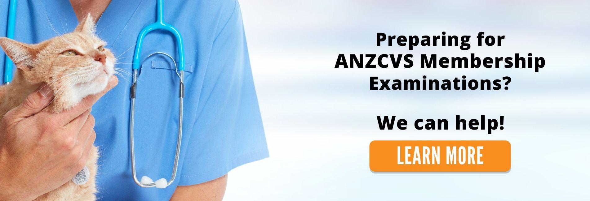 ANZCVS Membership Examination - Vet Education